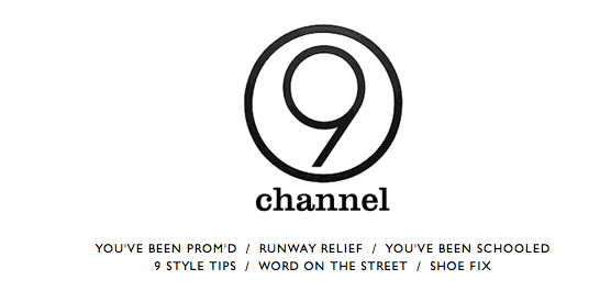 Channel 9 is Nine West's New Online Video Channel