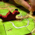 French strategy game carcassonne