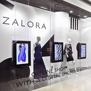 Zalora Pop-Up Store Connecting Offline and Online
