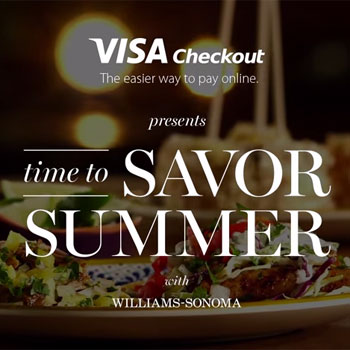 Williams-Sonoma Launches Shoppable Videos with Visa Checkout