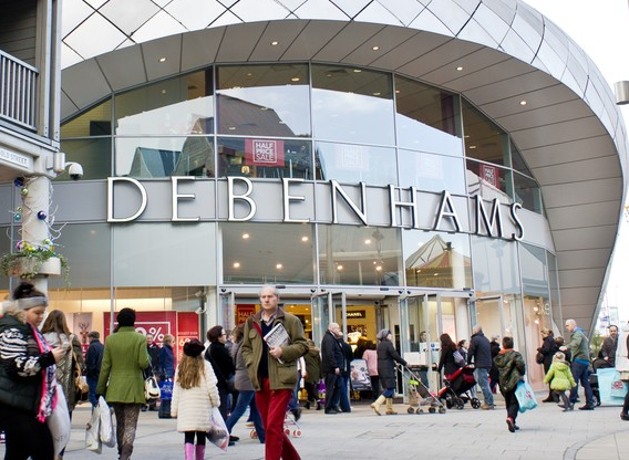 Debenhams Focus on Australia as Strategic Priority