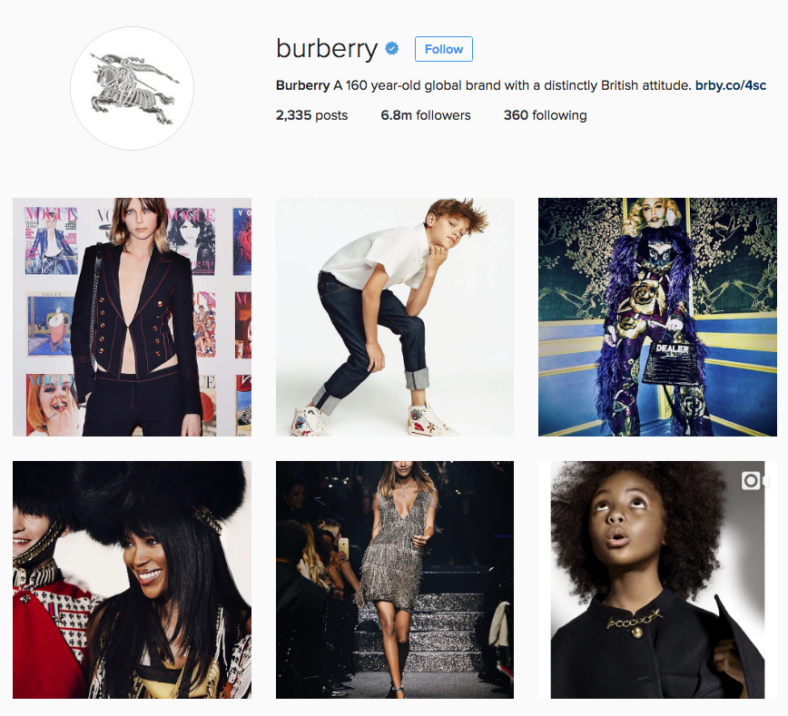 Burberry Looks to Social Commerce for Growth