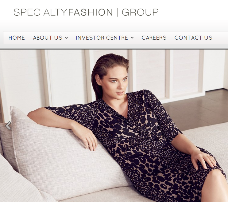 Specialty Fashion Group Posts Strong Online Growth