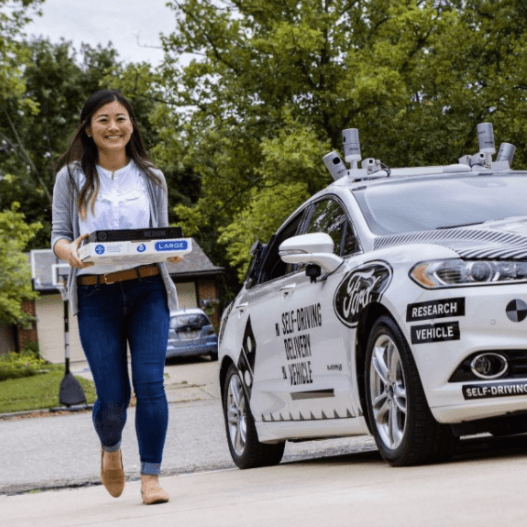 Domino's Delivers Pizzas With No Driver