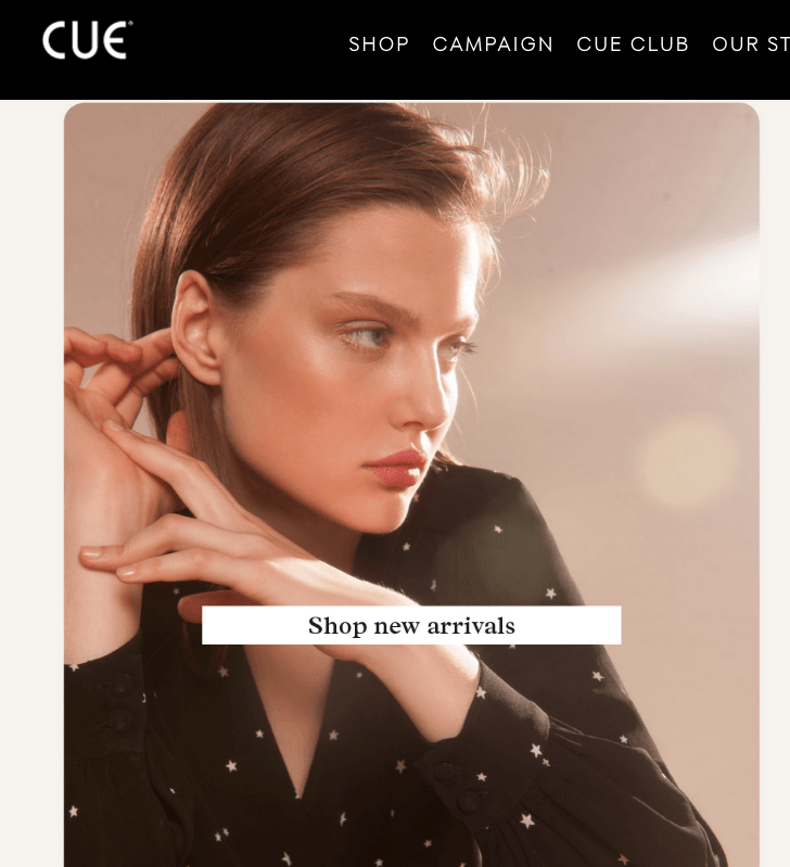 Inside Cue's E-Commerce and Omnichannel Shopping Strategy