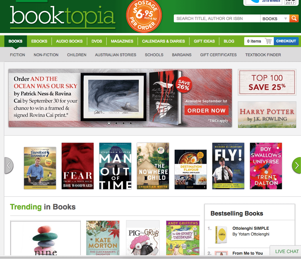 Booktopia Cleans Up at the Australian Telstra Business Awards