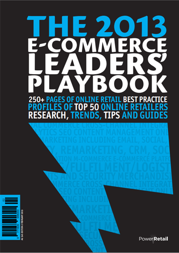 The 2013 E-Commerce Leaders' Playbook
