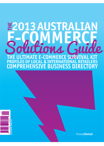 The 2013 Australian E-Commerce Solutions Guide