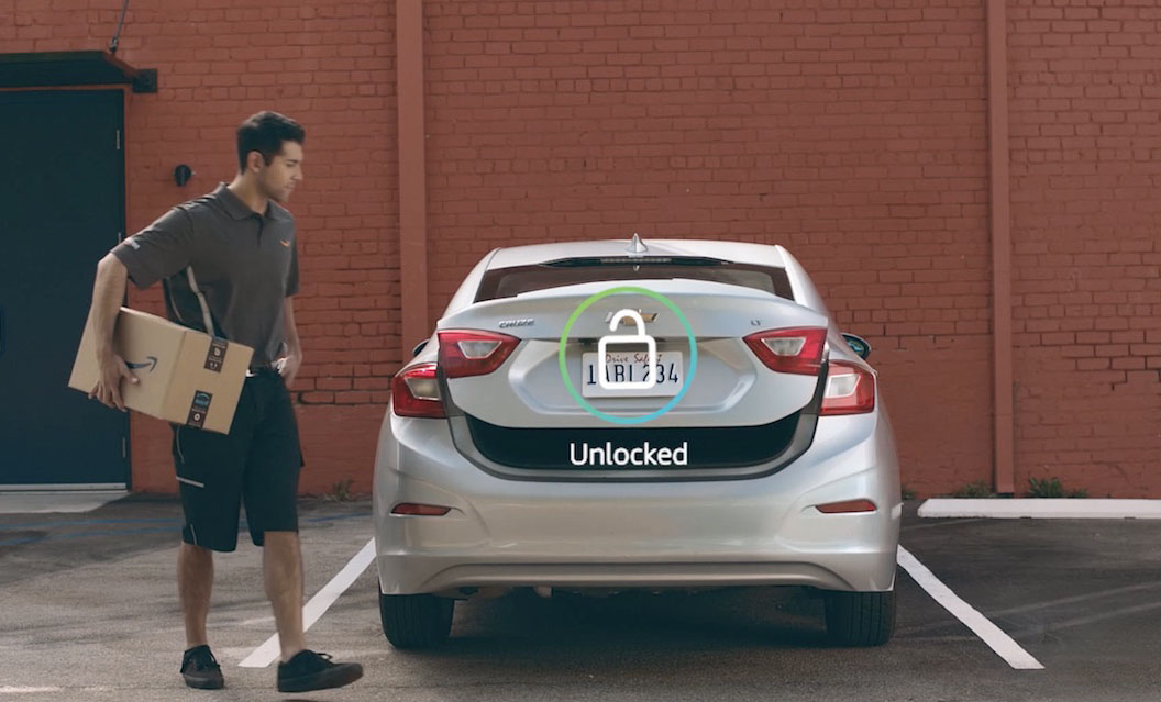 Amazon Trialling In-Car Delivery Service in the US
