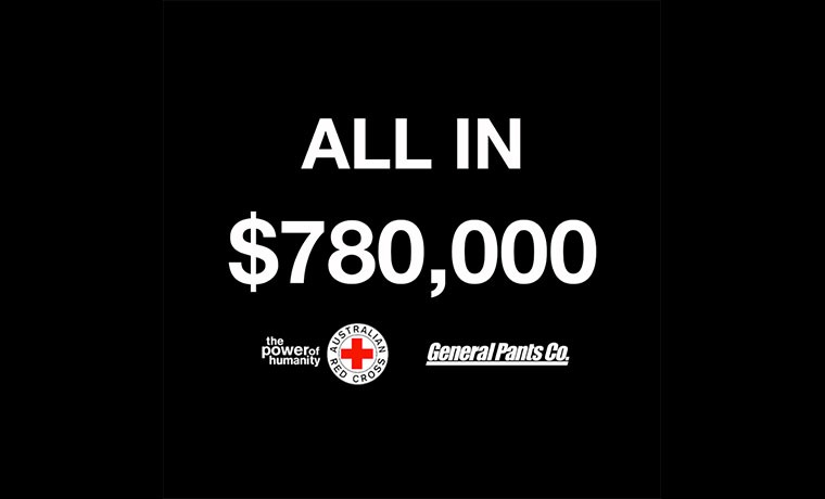 ALL IN Raises $780,000 for Australian Bushfire Relief