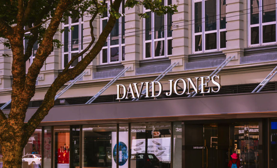 David Jones sales drop 35%