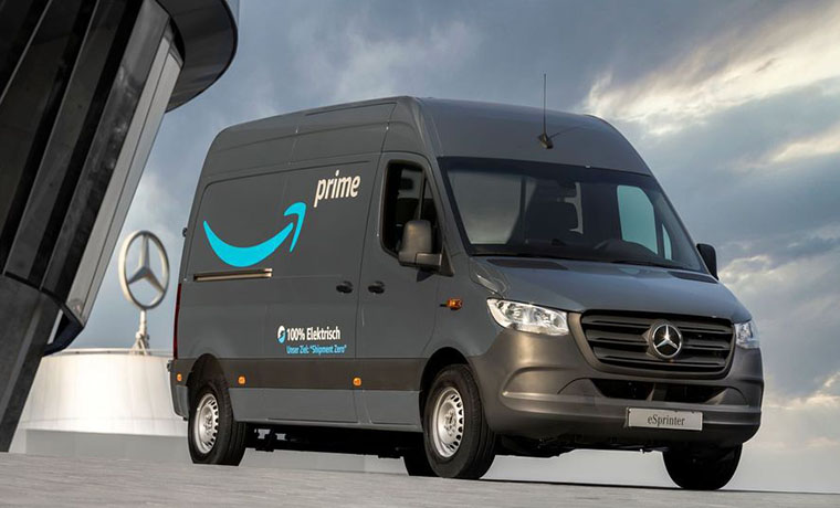 Amazon Introduces Electric Delivery Vans Across Europe