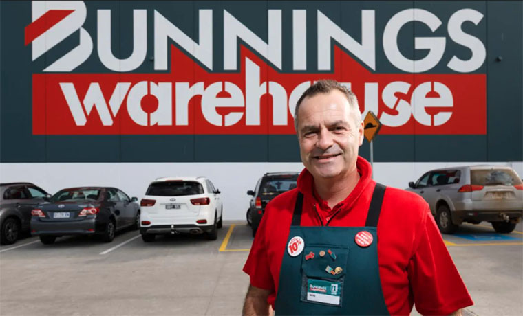 Bunnings Responds to Stage Four Restrictions
