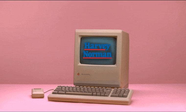 E-Commerce Time Machine: Harvey Norman