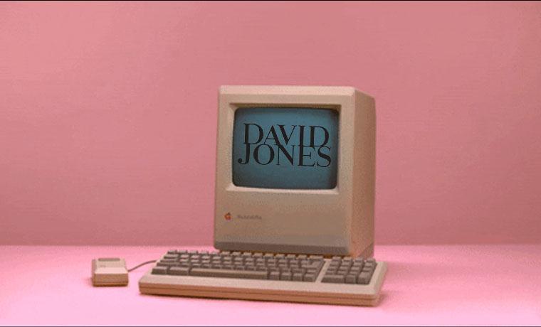 E-Commerce Time Machine: David Jones