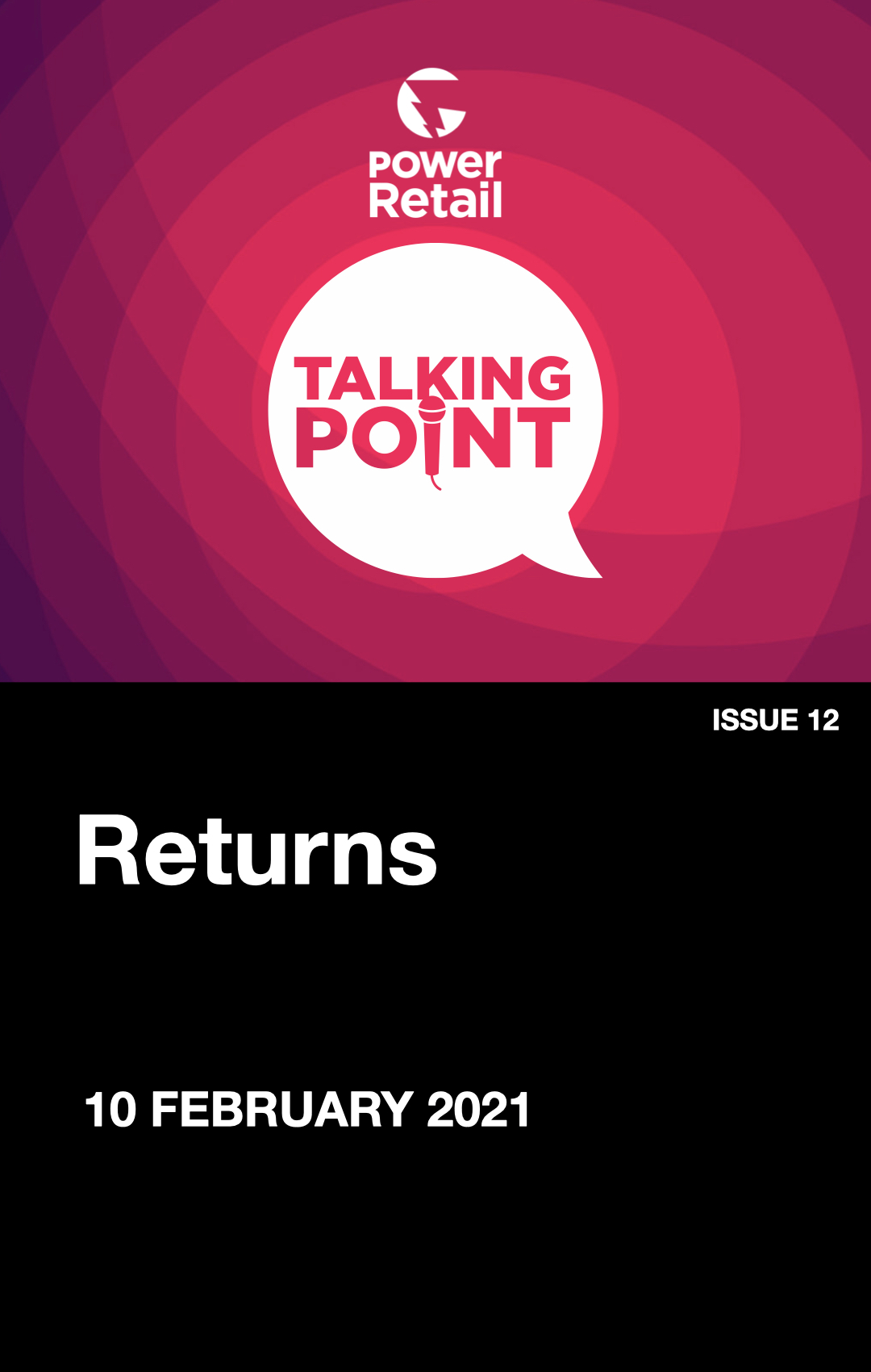 Talking Point Report #12