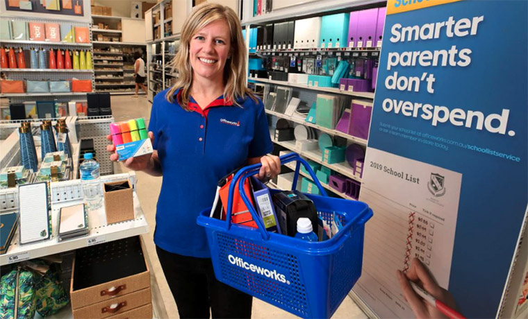 Officeworks Drives Strong Online Growth in HY21