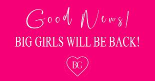 via Big Girls' Facebook