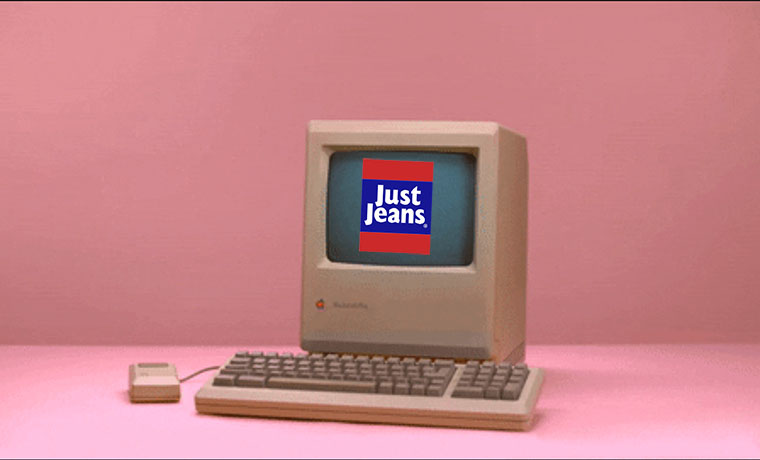 E-Commerce Time Machine | Just Jeans