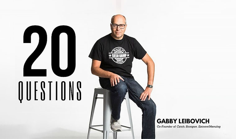 20 Questions with Gabby Leibovich